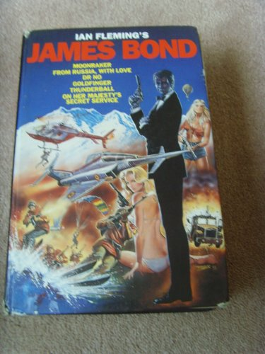 Ian Fleming's James Bond Omnibus:Moonraker,From Russia, with Love,Dr No,Goldfinger,Thunderball,On Her Majesty's Secret Service By Ian Fleming