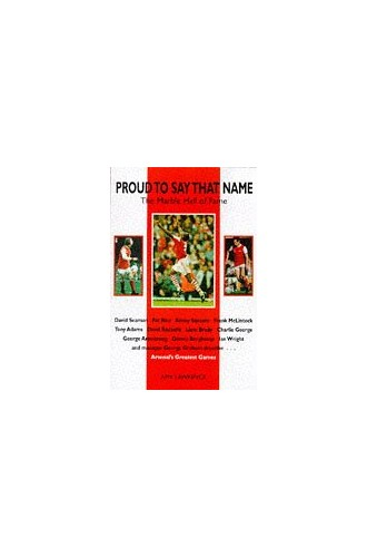 Proud To Say That Name Arsenal Dream Team By Amy Lawrence