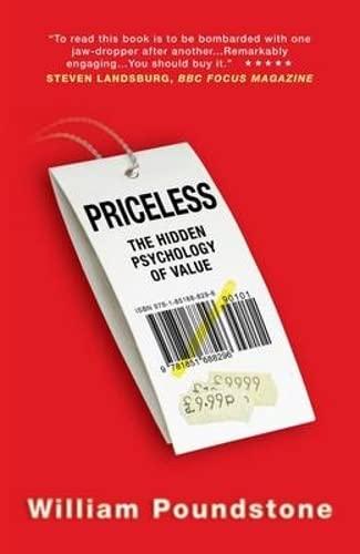 Priceless By William Poundstone