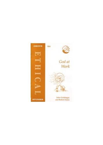 God at Work By John Goldingay