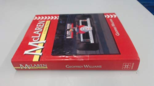 McLaren: A Racing History By Geoffrey Williams