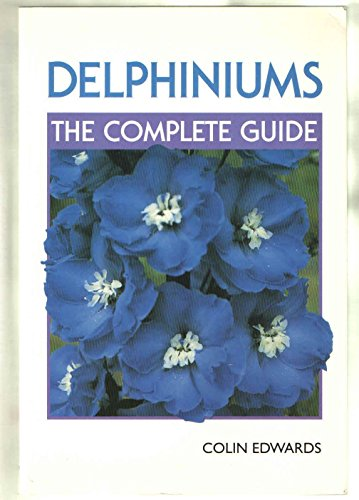 Delphiniums By Colin Edwards