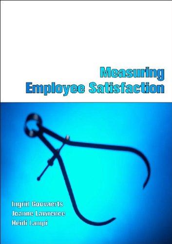 Measuring Employee Satisfaction By Ingrid Goovaerts