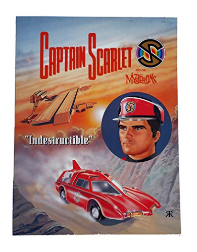 Captain Scarlet By Gerry Anderson