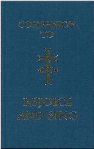 """Companion to """"Rejoice and Sing"""" By United Reformed Church"""