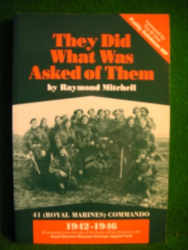 """""""They Did What Was Asked of Them"""" By Raymond Mitchell"""