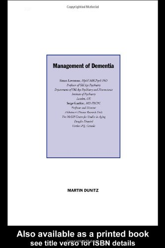 Management of Dementia By Serge Gauthier