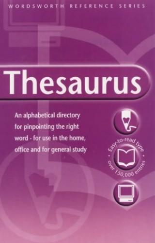 The Wordsworth Thesaurus By Wordsworth