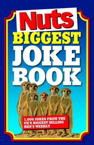"""Biggest """"Nuts"""" Joke Book By Nuts Magazine"""