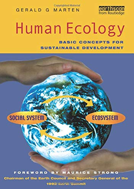 Human Ecology By Gerald G. Marten