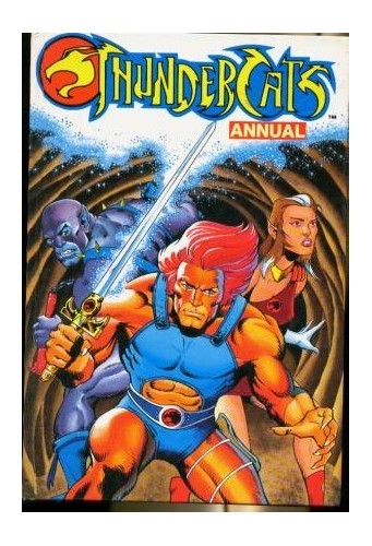 Thundercats Annual By Volume editor Harry Papadopoulos