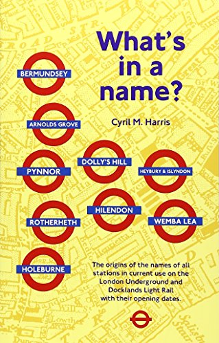 What's in a Name? By Cyril M. Harris