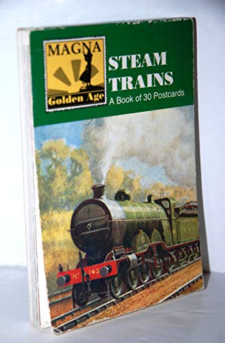 Steam Trains: A Book of 30 Postcards By Magna Books
