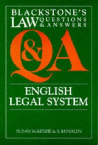 Q&A: English Legal System By Susan McKenzie