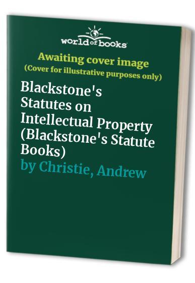 blackstones statutes on intellectual property