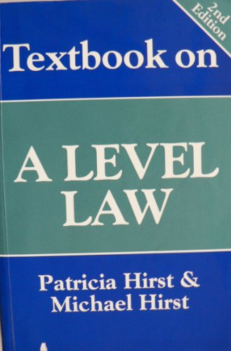 Textbook on A-Level Law by Patricia Hirst
