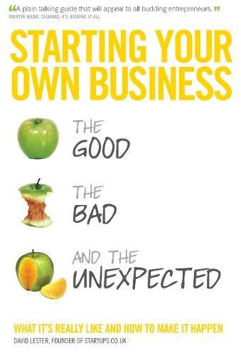 Starting Your Own Business By David Lester