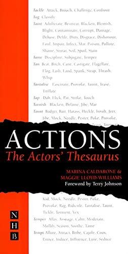 Actions: The Actors Thesaurus by Marina Caldarone