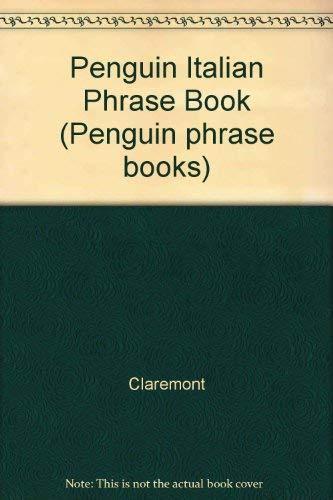 Penguin Italian Phrase Book By Claremont