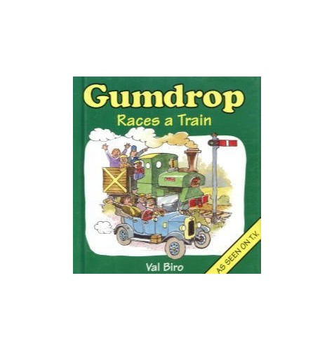 Gumdrop Races a Train By Val Biro