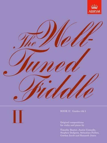 The Well Tuned Fiddle Book Ii By By Composer Abrsm