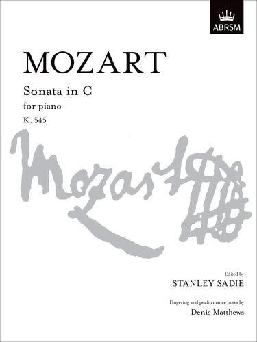 Sonata in C,  K. 545 By Wolfgang Amadeus Mozart