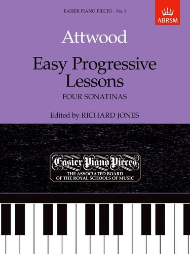 Easy Progressive Lessons By Thomas Attwood