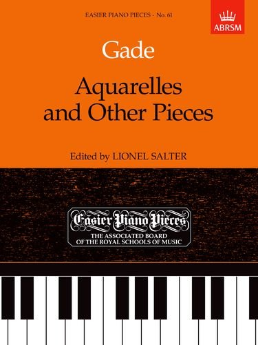 Aquarelles and Other Pieces By Niels Gade