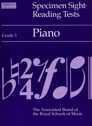 Specimen Sight-reading Tests: Piano: Grade 3 by Alan Ridout