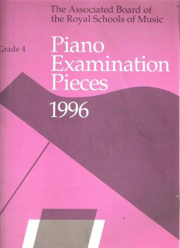 Piano examination pieces 1996