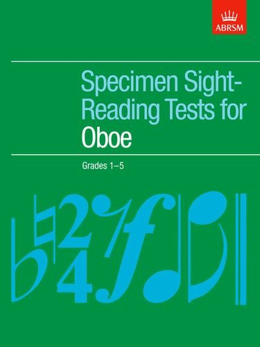 Specimen Sight-Reading Tests for Oboe, Grades 1-5 By Paul Harris
