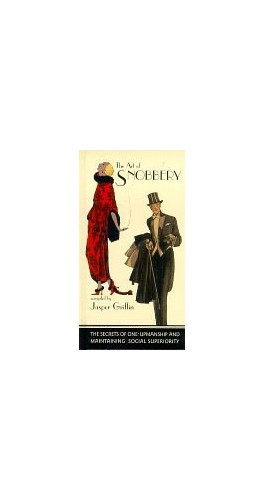 The-Art-of-Snobbery-by-Griffin-Jasper-Hardback-Book-The-Cheap-Fast-Free-Post