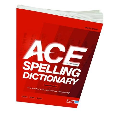 ACE Spelling Dictionary By David Moseley