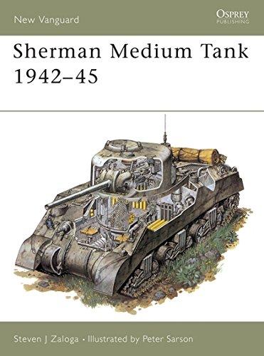 Sherman Medium Tank By Steven Zaloga