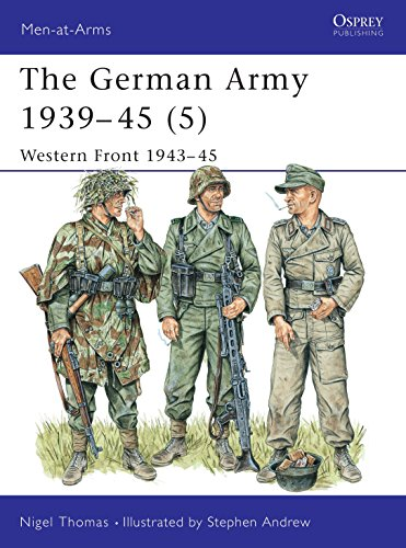 The German Army, 1939-45: v. 5: Western Front, 1944-45 by Nigel Thomas