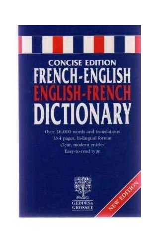 Pocket Reference French/English Dictionary by