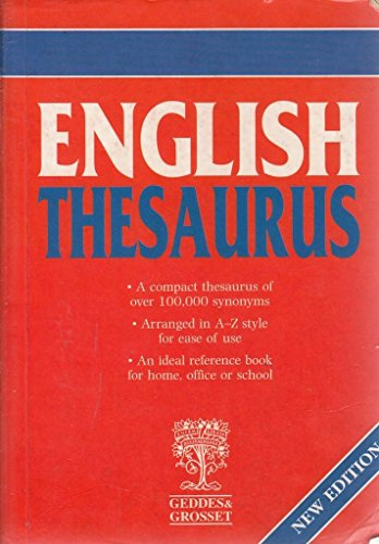 English Thesaurus by