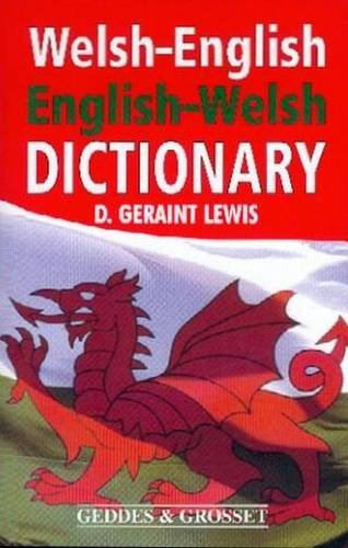 Welsh-English English-Welsh Dictionary By D. Geraint Lewis
