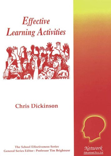 Effective Learning Activities By Chris Dickinson