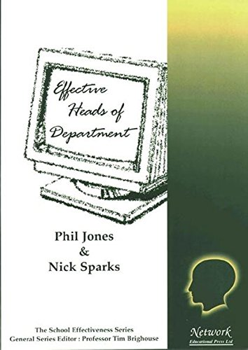 Effective Heads of Department By Phil Jones