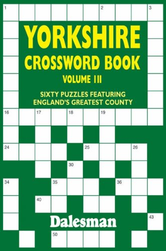 The Yorkshire Crossword Book By Michael Curl