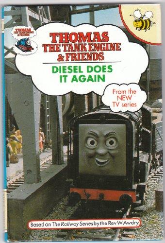 Diesel Does it Again by Rev. Wilbert Vere Awdry