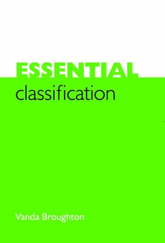 Essential Classification by Vanda Broughton