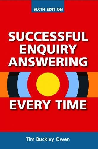 Successful Enquiry Answering Every Time By Tim Buckley Owen