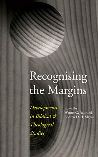 Recognising the Margins By Werner G. Jeanrond