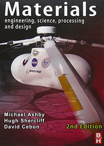 Materials: Engineering, Science, Processing and Design By Michael F. Ashby (Royal Society Research Professor Emeritus, University of Cambridge, and Former Visiting Professor of Design at the Royal College of Art, London)