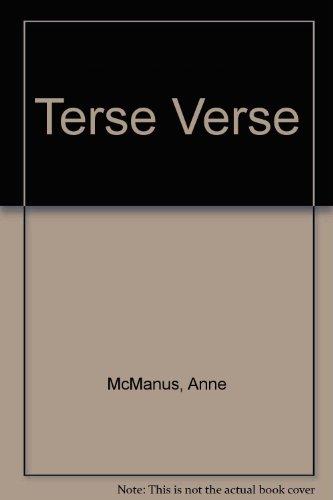 Terse Verse By Anne McManus