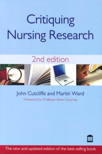 Critiquing Nursing Research By John Cutliffe