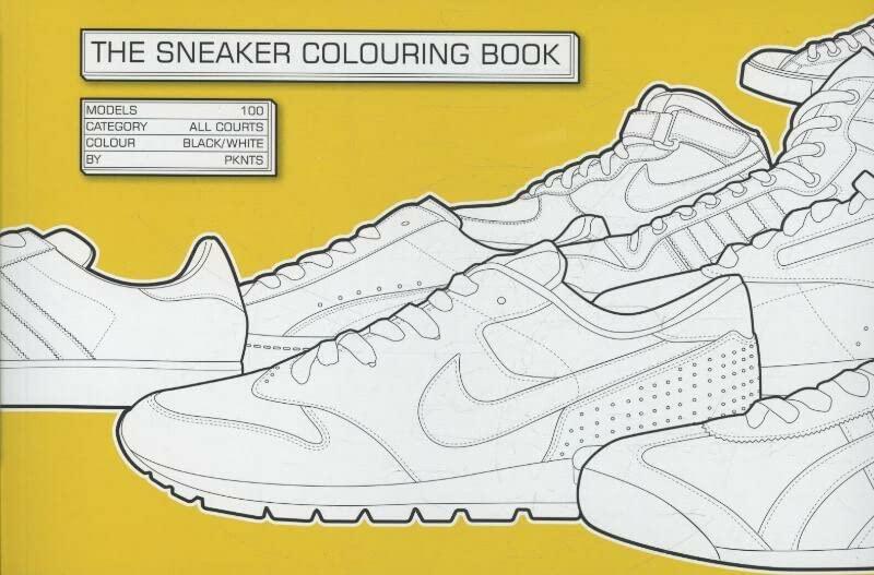 Sneaker Colouring Book by Daniel Jarosch