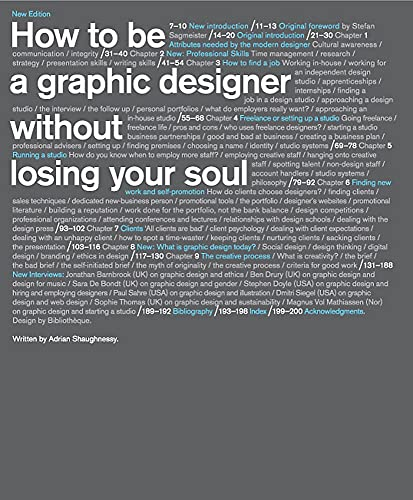 How to be a Graphic Designer...2nd edition By Adrian Shaughnessy